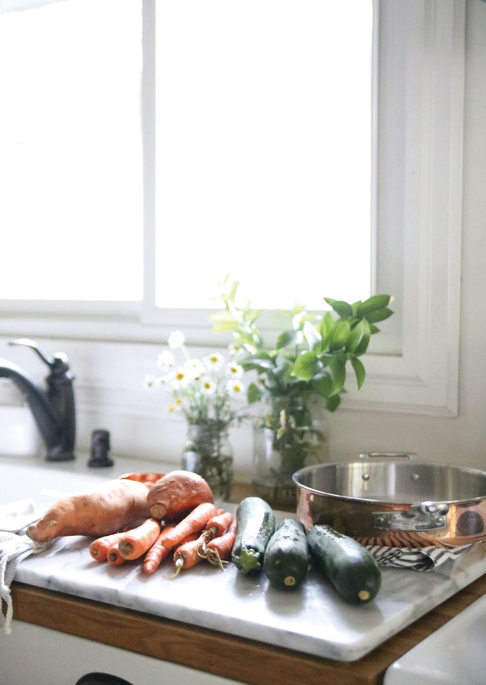 Sweet-Potato-Zoodle-Stir-Fry-Pure-Ella-Leche-Martha-Stewart-Tri-Ply-Copper-10-Pc.-Cookware-Set3