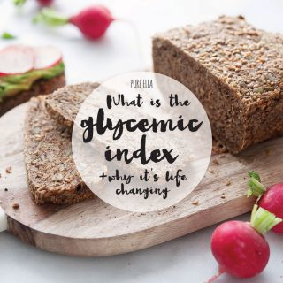 What is the Glycemic Index and why it's life changing!
