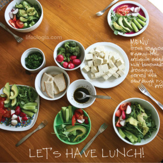let's have lunch : something fresh & simple